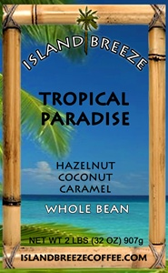 Tropical Paradise Regular 2 LB Whole Bean