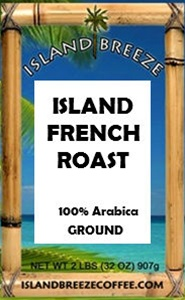 Island French Roast  Ground