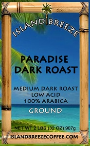 Paradise Dark Roast Regular 2 LB Ground
